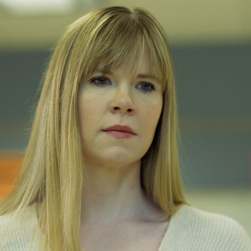 Ms. Santoro played by Leah Martin