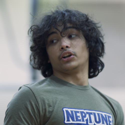 Damien Rodriguez played by Riley Stevens